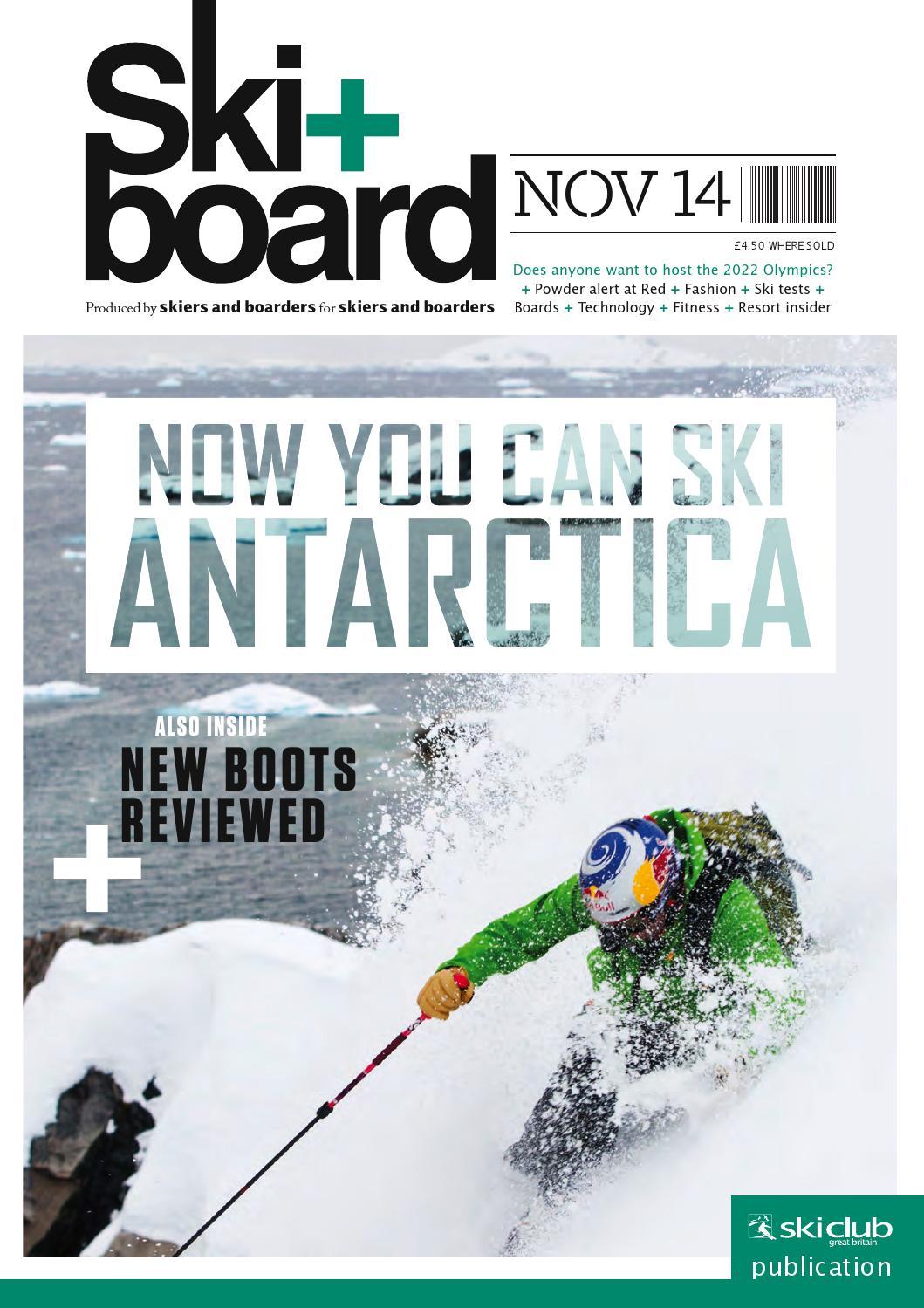 Ski Board November 2014 By Club Of Great Britain Issuu Jfashion Womenamp039s Parka Jacket Simpel Elegan Gabriella