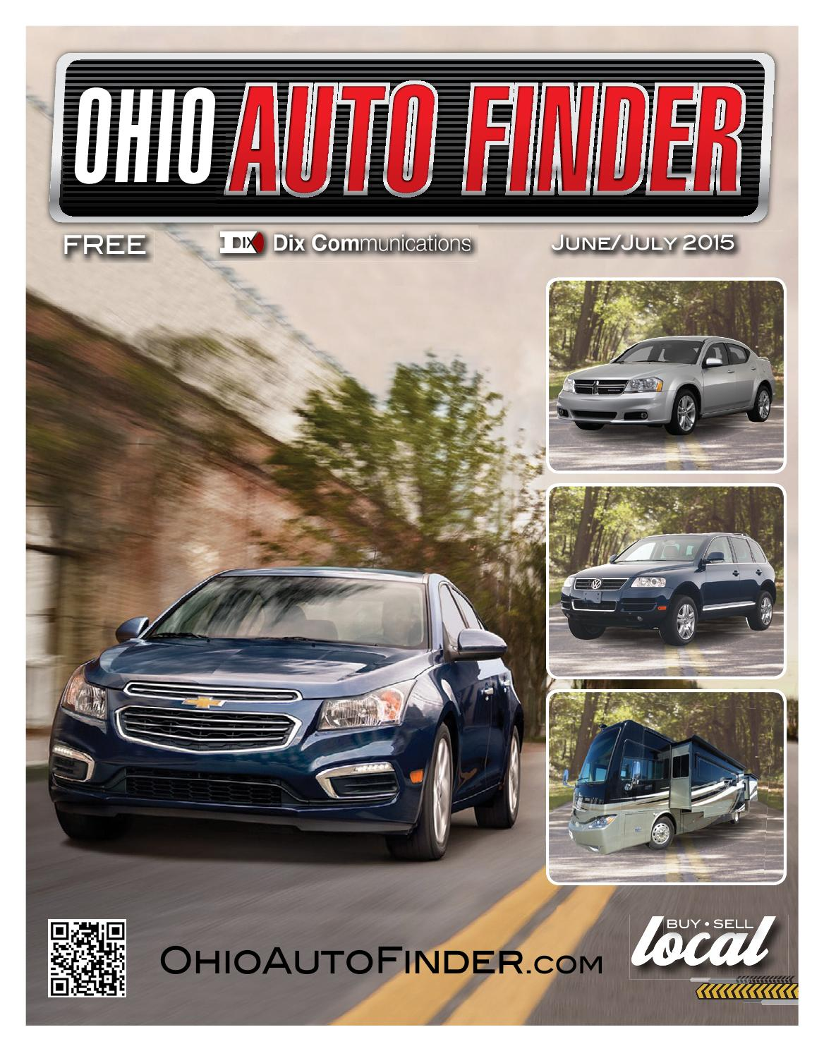 Ohio Auto Finder June July 2015 By Gatehouse Media Neo