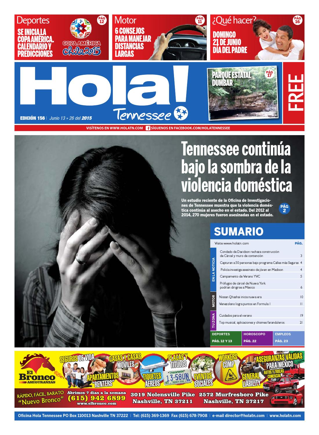 Hola TN - Ed. 156 by Hola Tennessee Newspaper - issuu