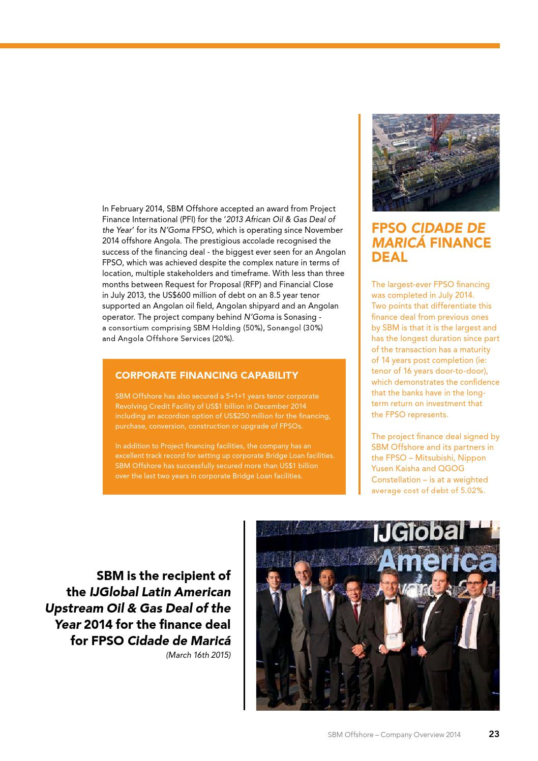 SBM Offshore company overview 2014 by Mattmo - issuu