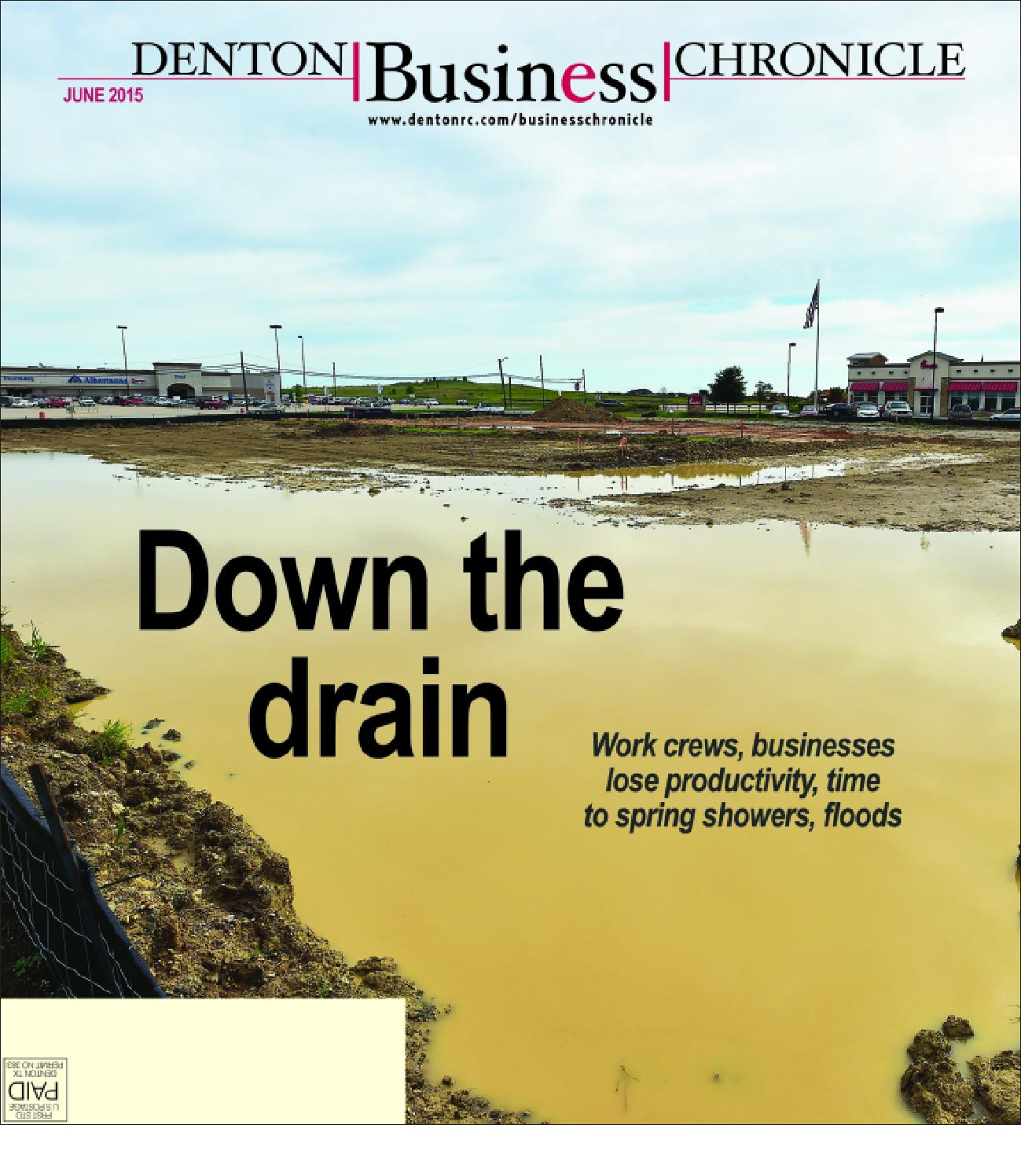 June Denton Business Chronicle 2015 by Larry McBride issuu