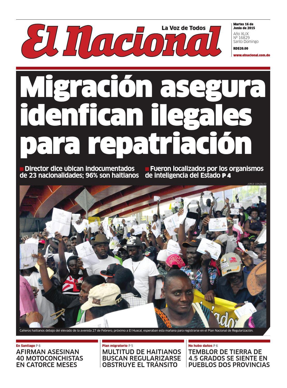 Impreso 16 06 15 by Periodico El Nacional - issuu bf881e1d435a1