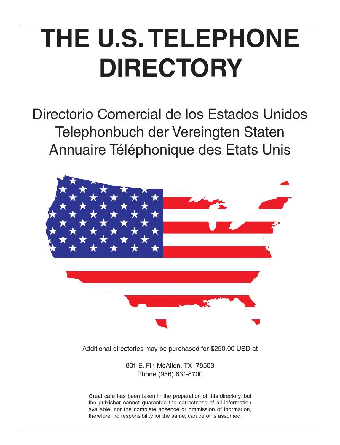 8d13ecdaf87a The U.S. Telephone Directory by El Periodico U.S.A. - Issuu
