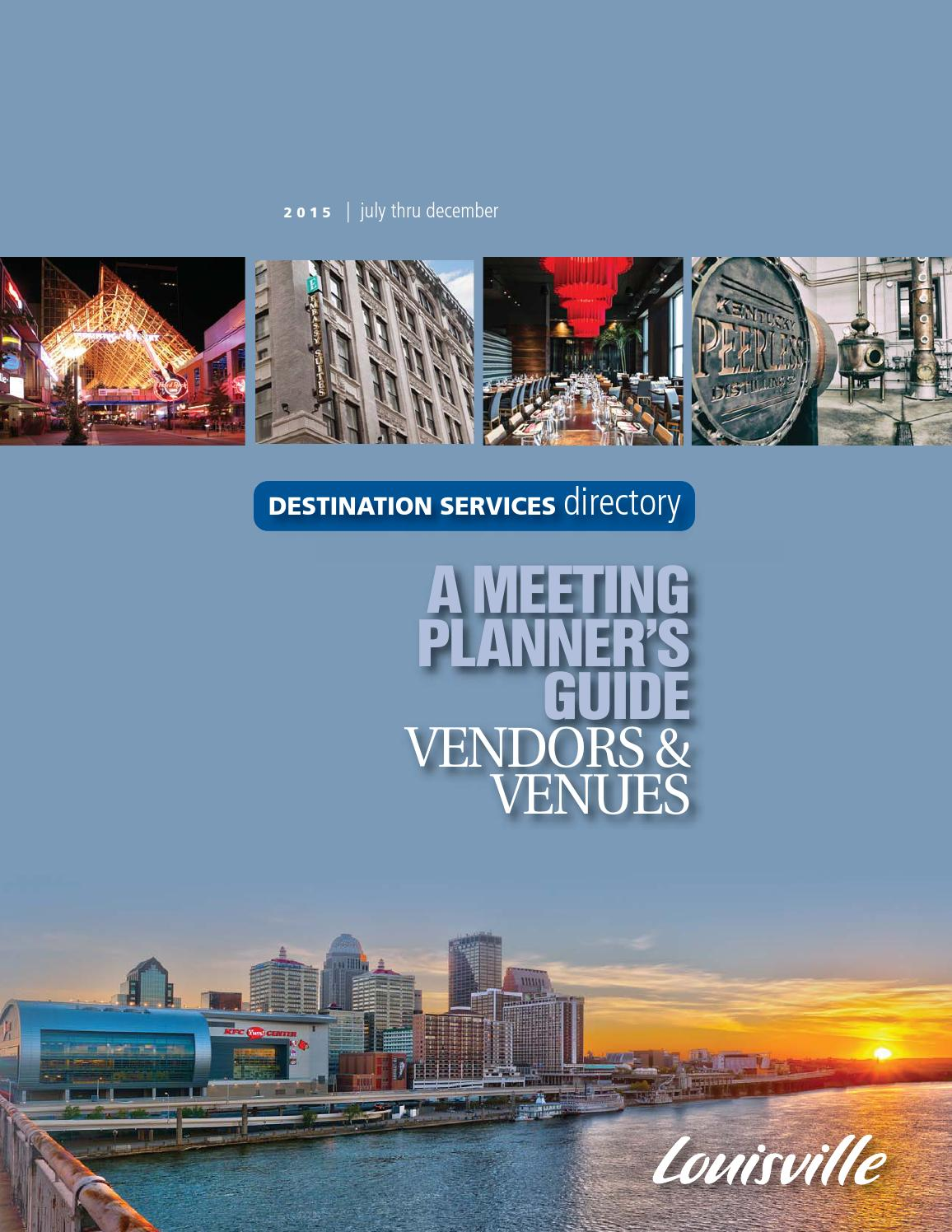 Louisville Destination Services Directory by Louisville Convention    Visitors Bureau - issuu 936dbe504c5