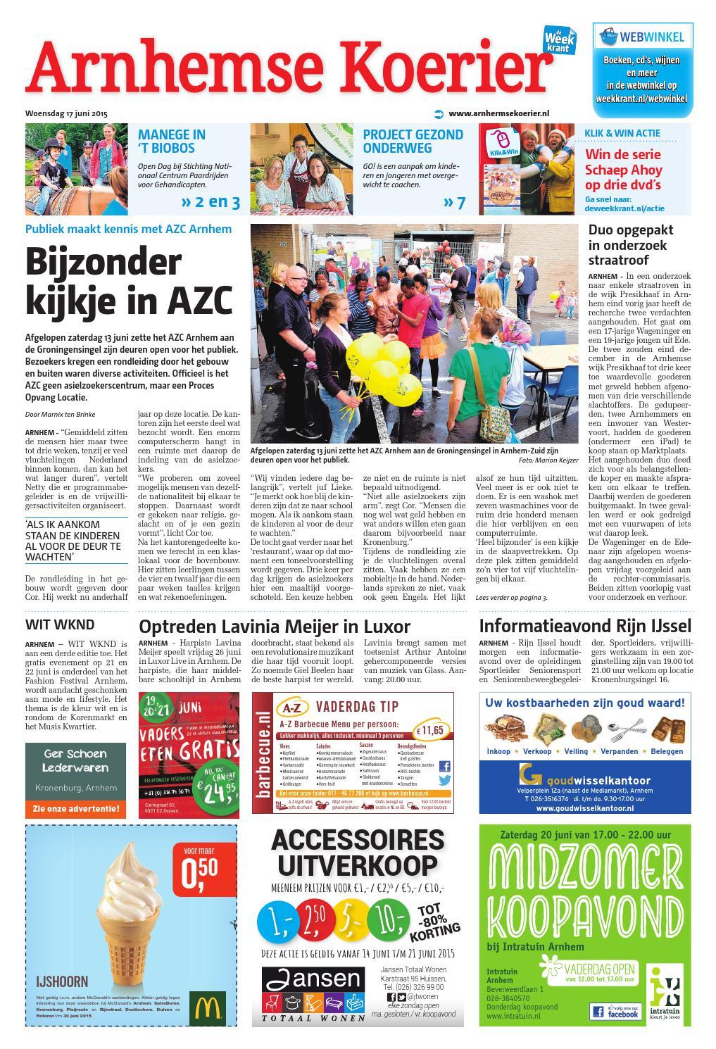 Tuinkast Bayern Gratis Bezorgd Nederland.Arnhemse Koerier Week25 By Wegener Issuu