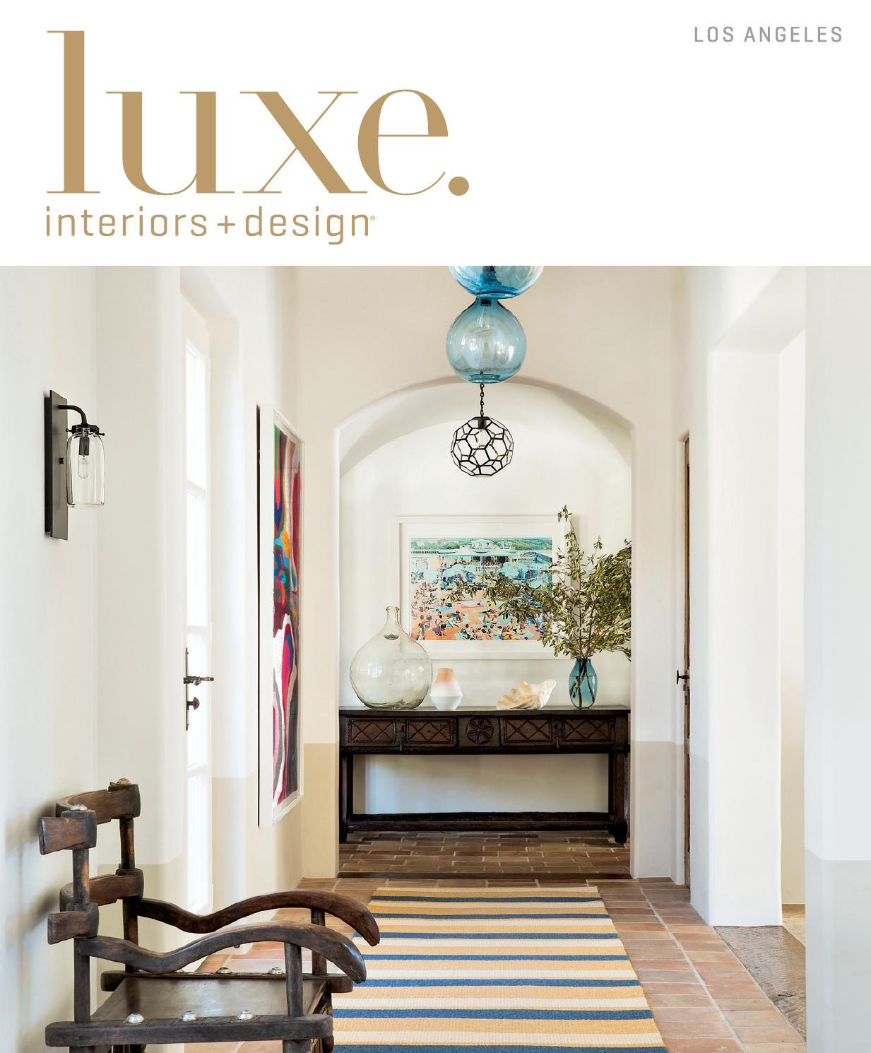 Luxe Magazine Summer 2015 Los Angeles by SANDOW® - issuu
