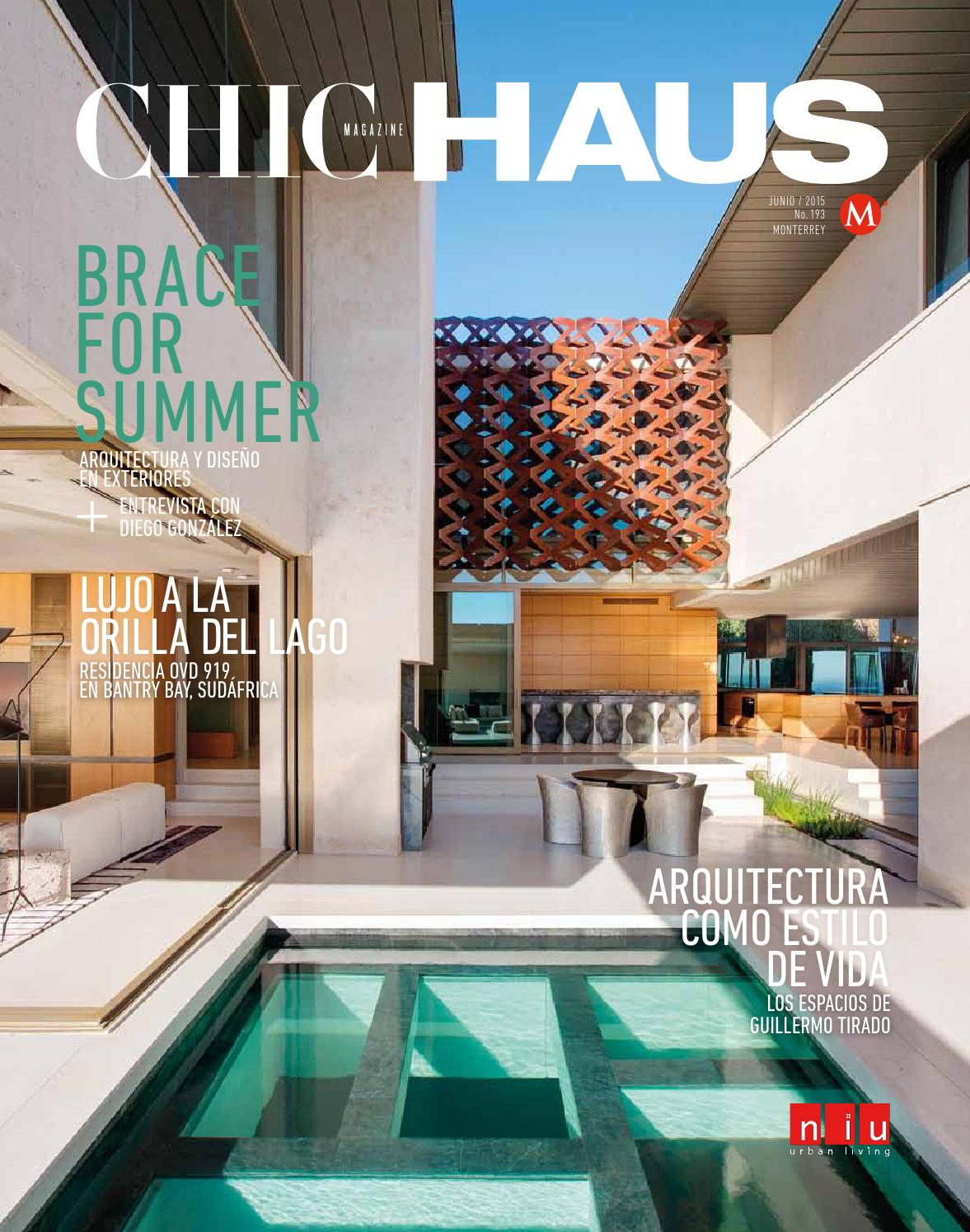 Chic Haus Monterrey N M 204 May 2016 By Milenio Diario  # Saqqara Muebles Y Decoracion