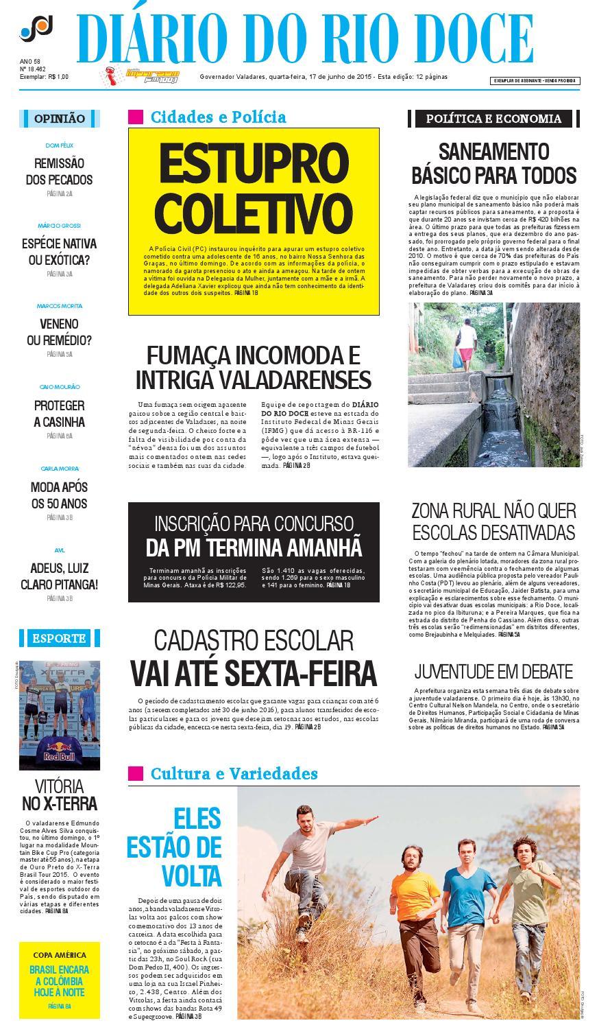Diário do Rio Doce - Edição de 17 06 2015 by Diário do Rio Doce - issuu e4c3208602