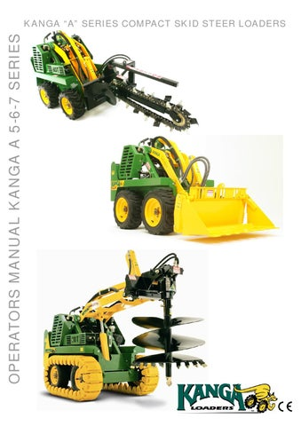 Operators Manual A5-6-7 Series by Kanga Loaders - issuu