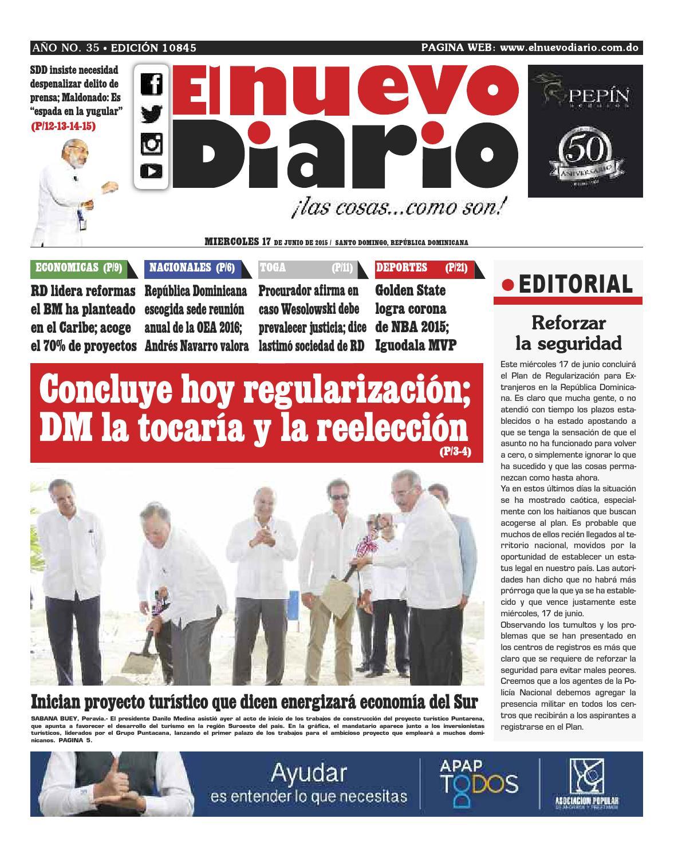El Nuevo Diario by El Nuevo Diario - issuu 79bdaa8f7e8