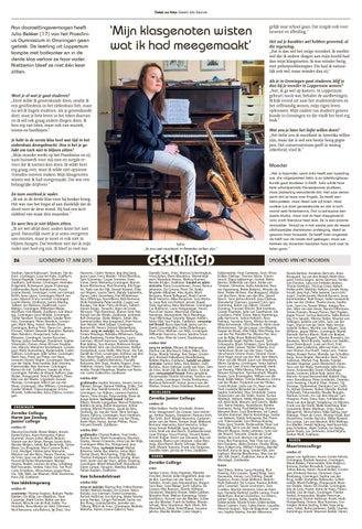 Jasper Klapwijk Winsum.Dagblad Van Het Noorden Examenbijlage By Ndc Mediagroep Issuu
