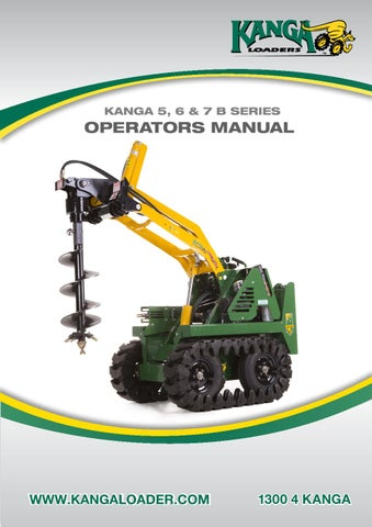 page_1_thumb_large 6 & 7 b series operators manual by kanga loaders issuu kanga loader wiring diagram at nearapp.co