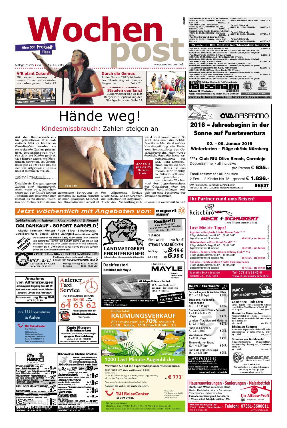 Die Wochenpost Kw 25 By Wolfram Daur Issuu