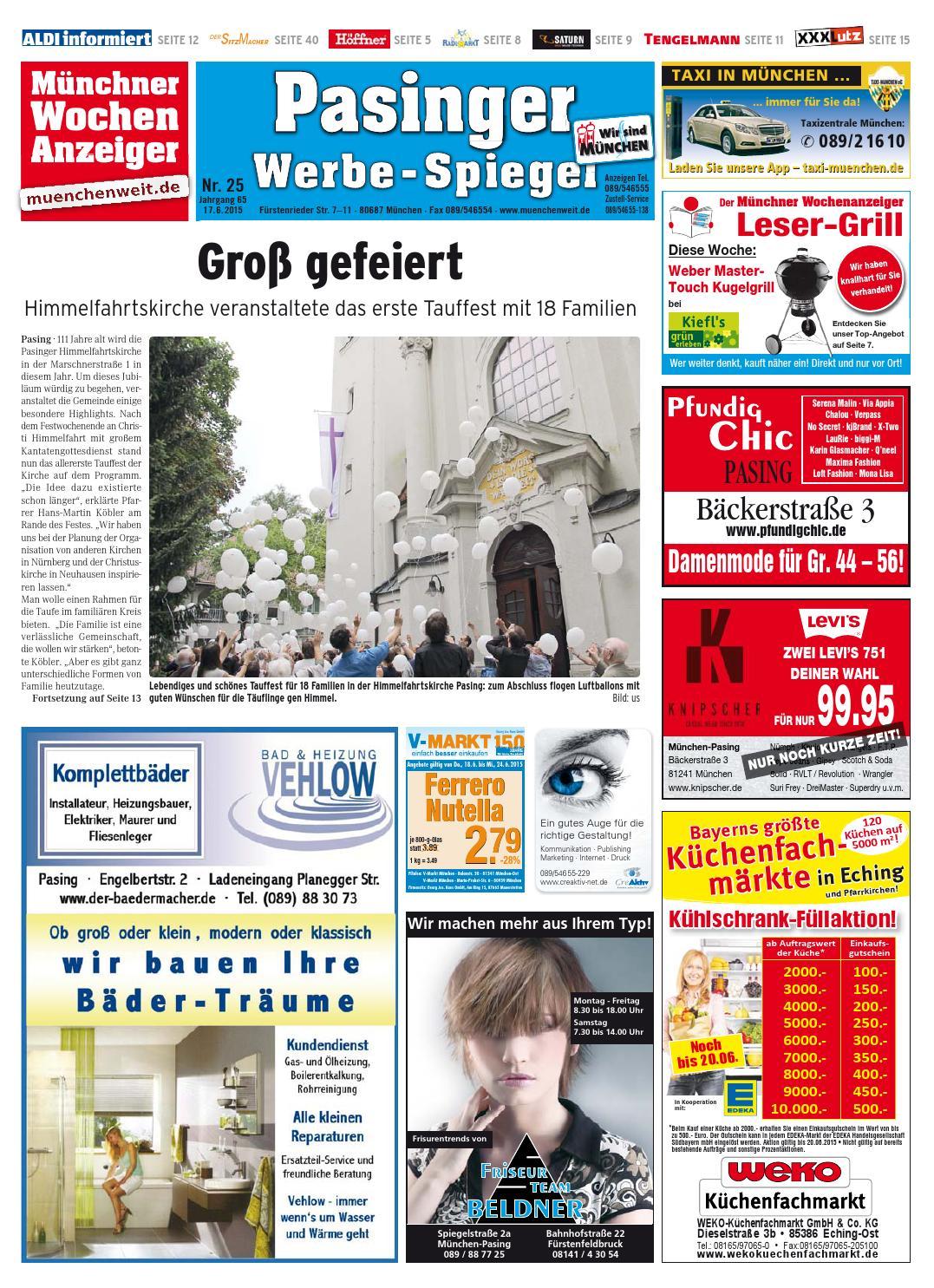 KW 25-2015 by Wochenanzeiger Medien GmbH - issuu