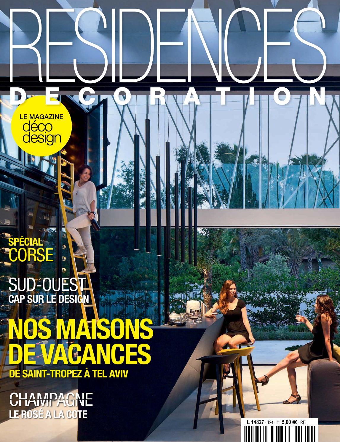 residences decoration n 124 by residences decoration magazine issuu. Black Bedroom Furniture Sets. Home Design Ideas