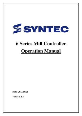 syntec 6mb operation manual by apexcnctech issuu rh issuu com