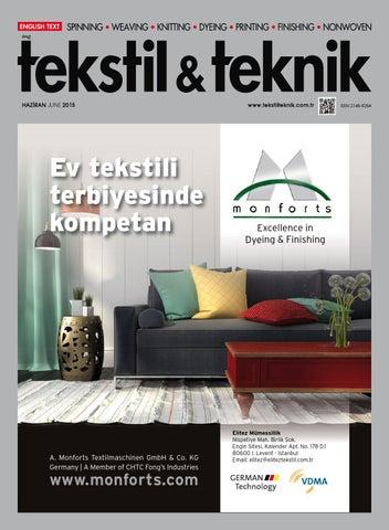 Tekstil Teknik Haziran15 By Tekstil Teknik Issuu