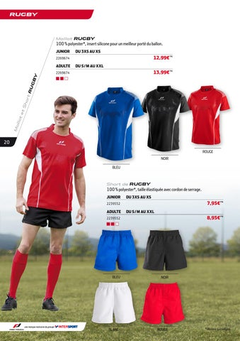 9b0ba2b7fe INTERSPORT - Catalogue Pro Touch / Collection clubs 2015-2016 by ...