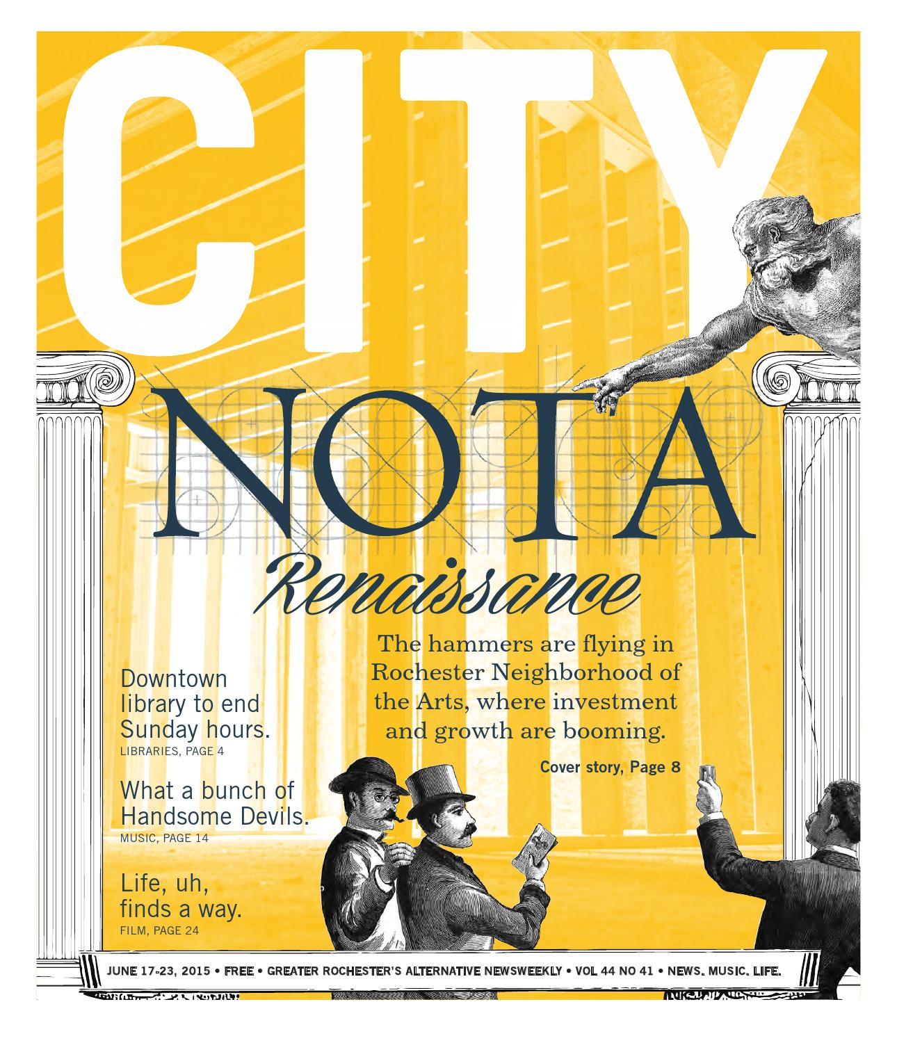June 17-23, 2015 - CITY Newspaper by Rochester City
