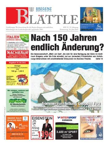 Bregenzer blaettle 25 by Regionalzeitungs GmbH - issuu cfaaa8c728