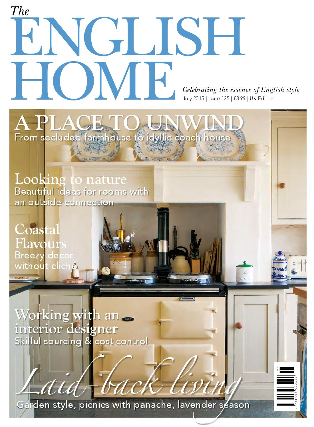 country living uk by gail littell issuu the english home july 2015 preview