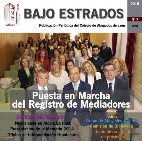 9f7567a721c Revista digital Bajo Estrados Nº 7 by Hermes Comunicacion - issuu
