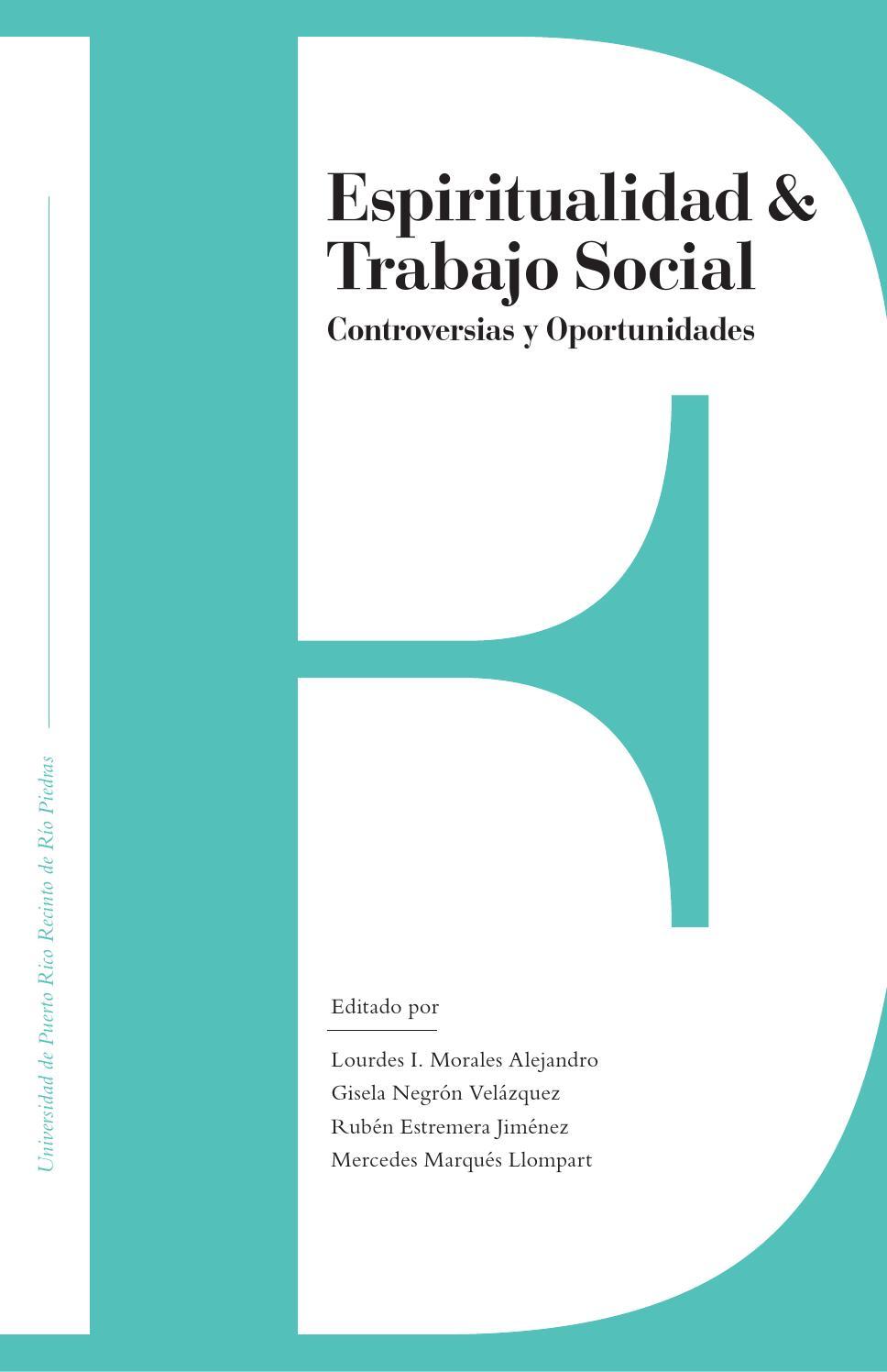 Espiritualidad & Trabajo Social: Controversias y Oportunidades by ...
