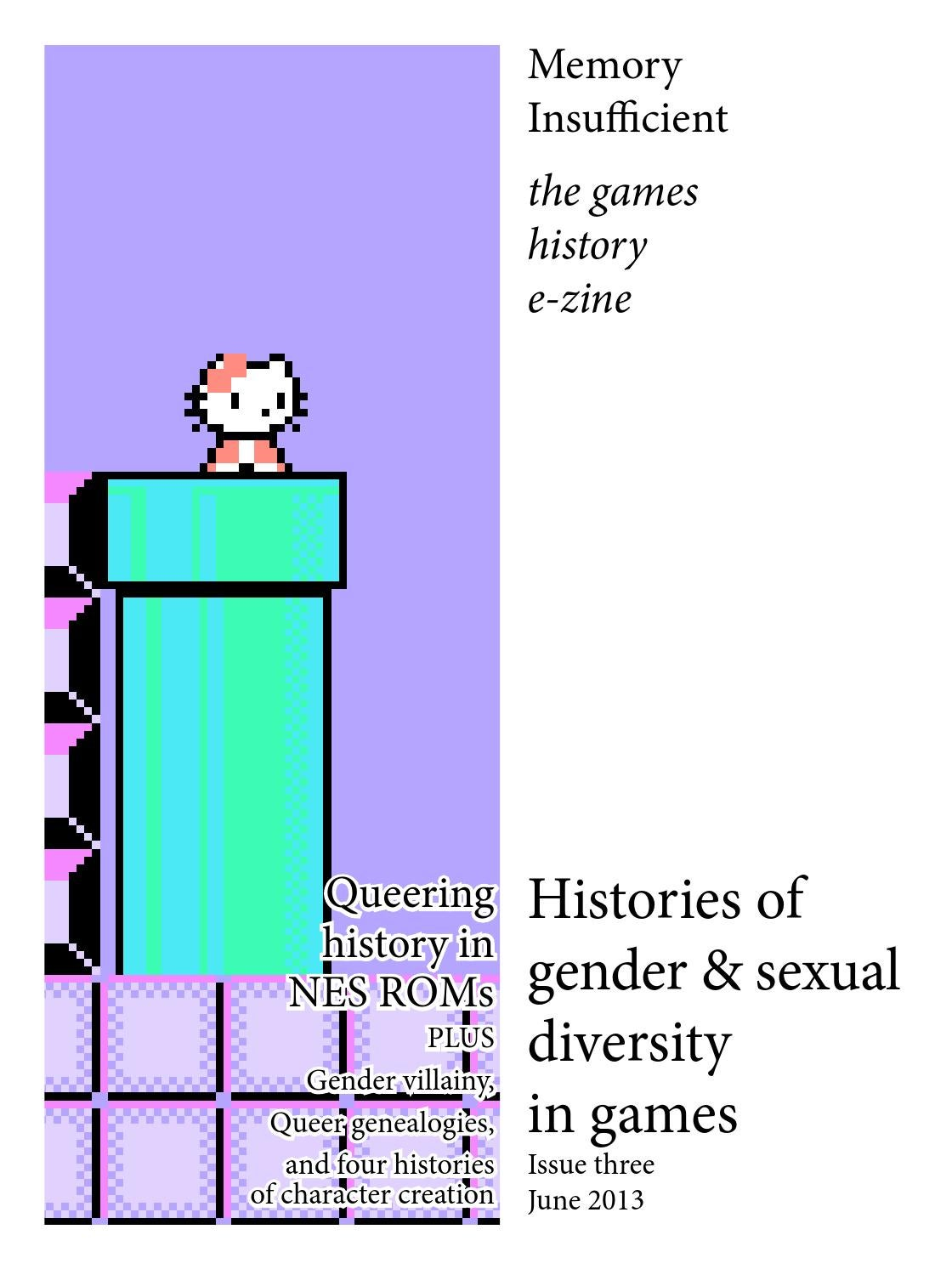 Histories of gender and sexual diversity in games