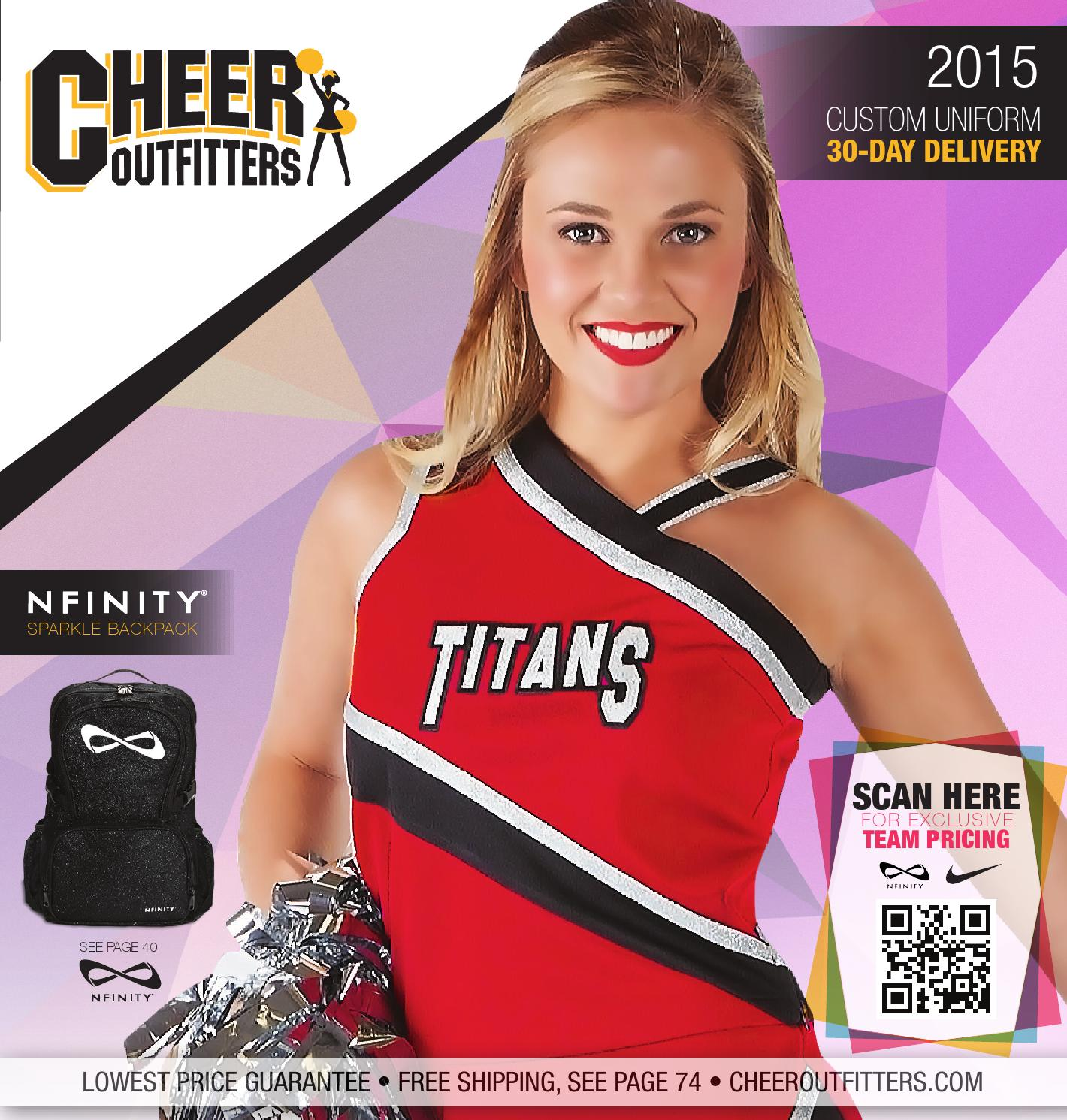 Cheer Fantastic Scoop Neck Midriff Youth Small White