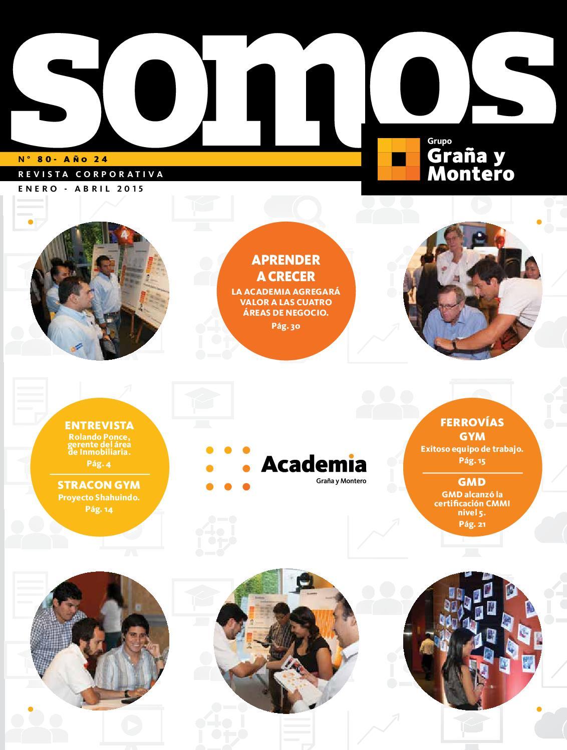 Somos 80 by Graña y Montero - issuu