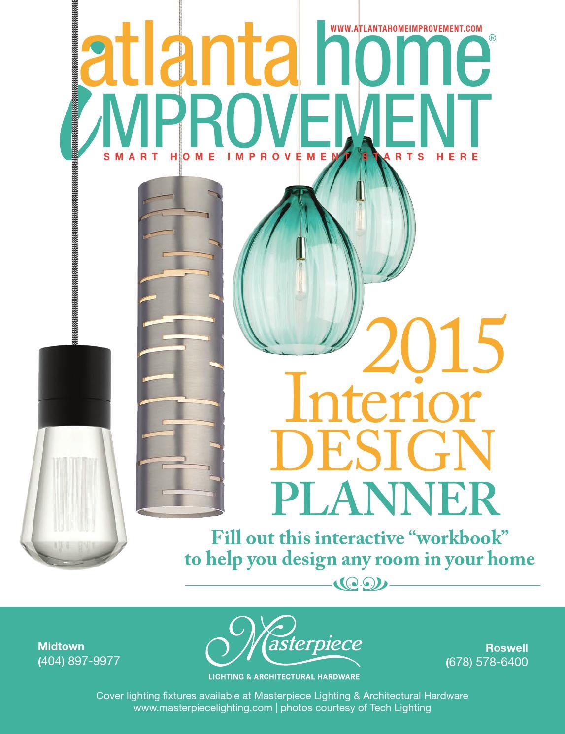 atlanta home improvement magazine 2015 interior design planner by my