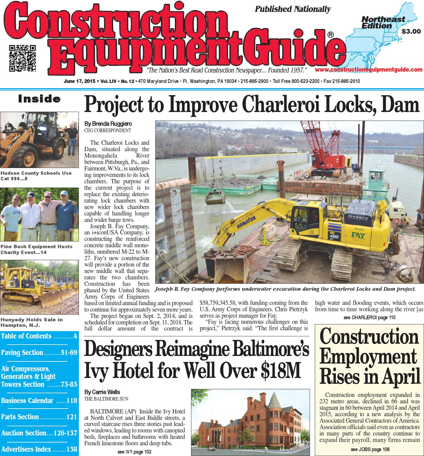 Northeast 12 2016 by construction equipment guide issuu fandeluxe Images