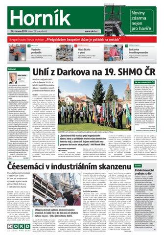 18c815bae03 Hornik 2015 23 by Noviny Hornik - issuu
