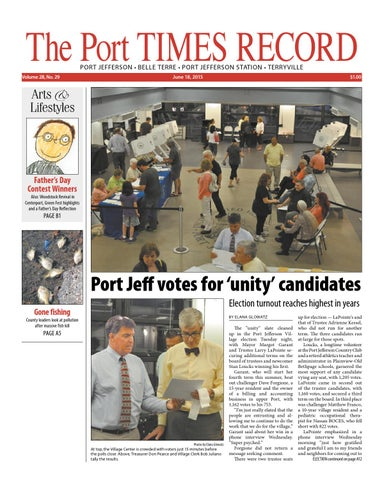 The Port Times Record - June 18, 2015