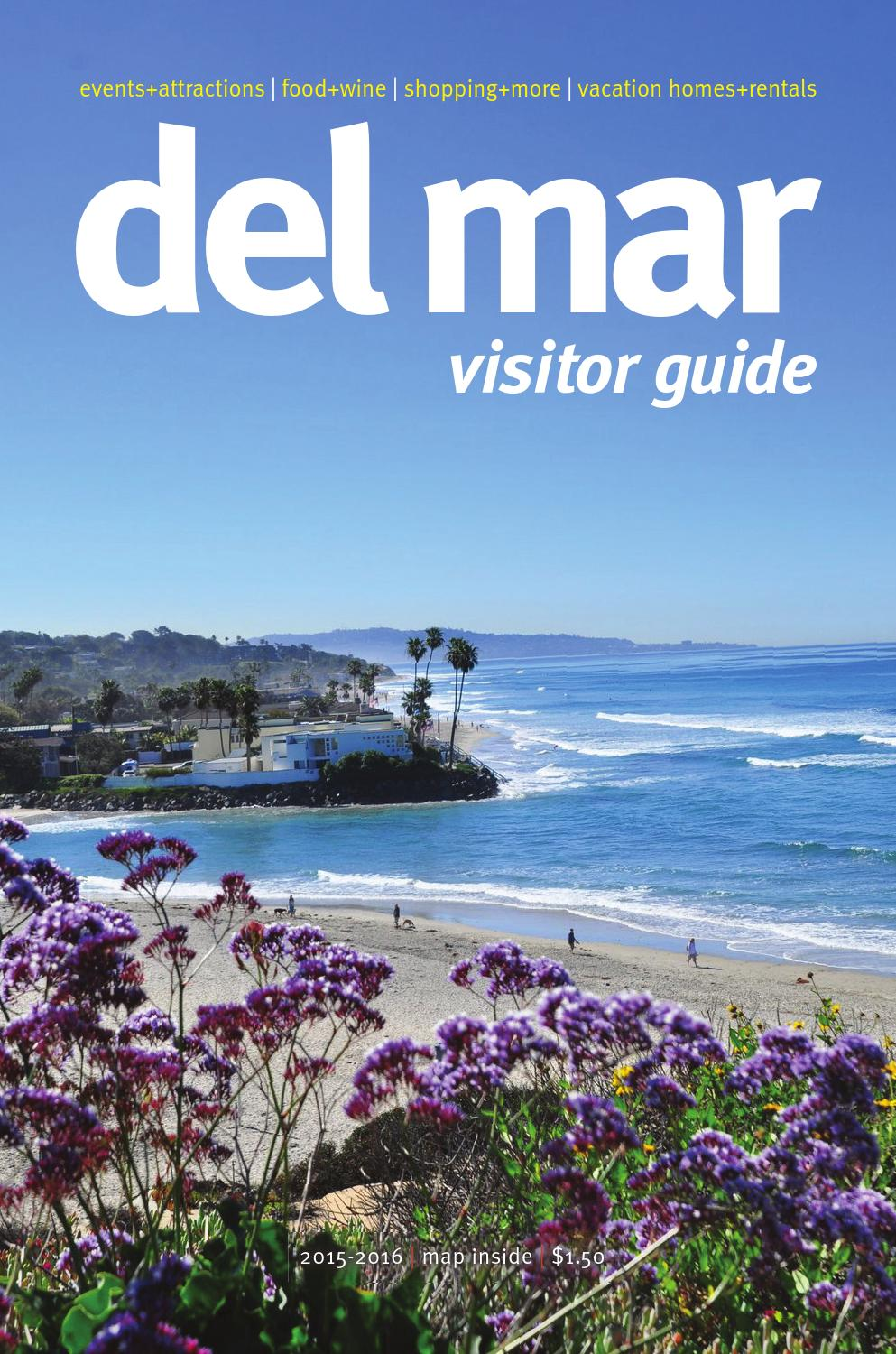 Del mar visitors guide 2015 by MainStreet Media - issuu