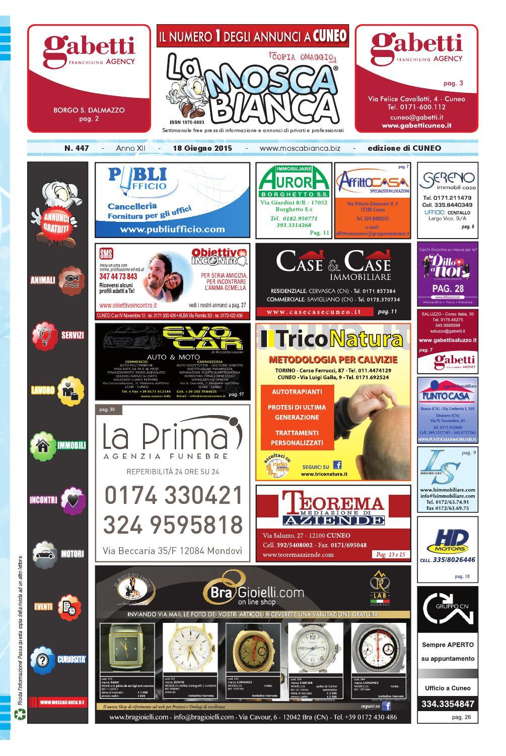 S Mosca Publidok lIssuu Cuneo N447 r By La Bianca H2YED9WI