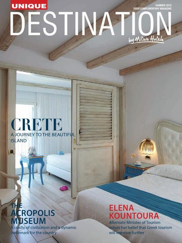 fcc8e74bee3d Destination Unique Magazine by Mitsis Hotels by KSD S.A - issuu