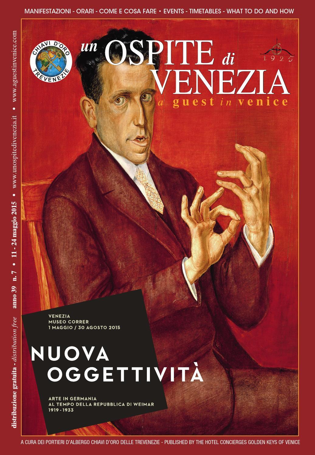 Ospite 7 2015 - nuova oggettività by Coop. Chiavi d Oro delle Trevenezie -  un Ospite di Venezia - issuu 878b37128efc