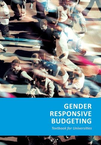 Gender Responsive Budgeting by Bojan Mustur - issuu
