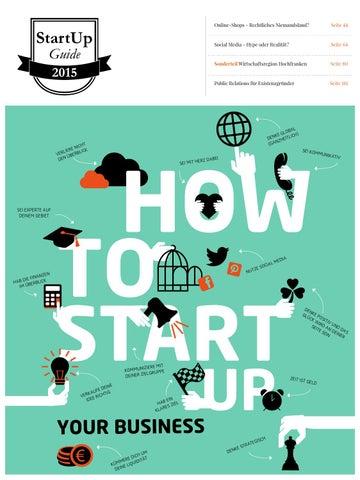 Startup Guide 2015 By SCHROEDER Werbeagentur GmbH   Issuu