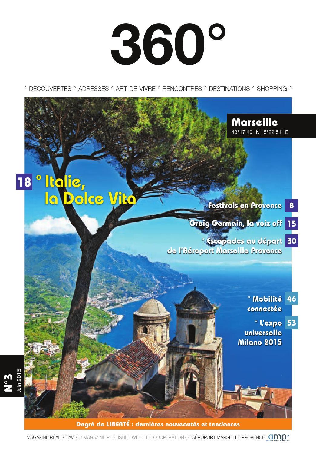 360 Marseille Juin 2015 By 360degres Issuu
