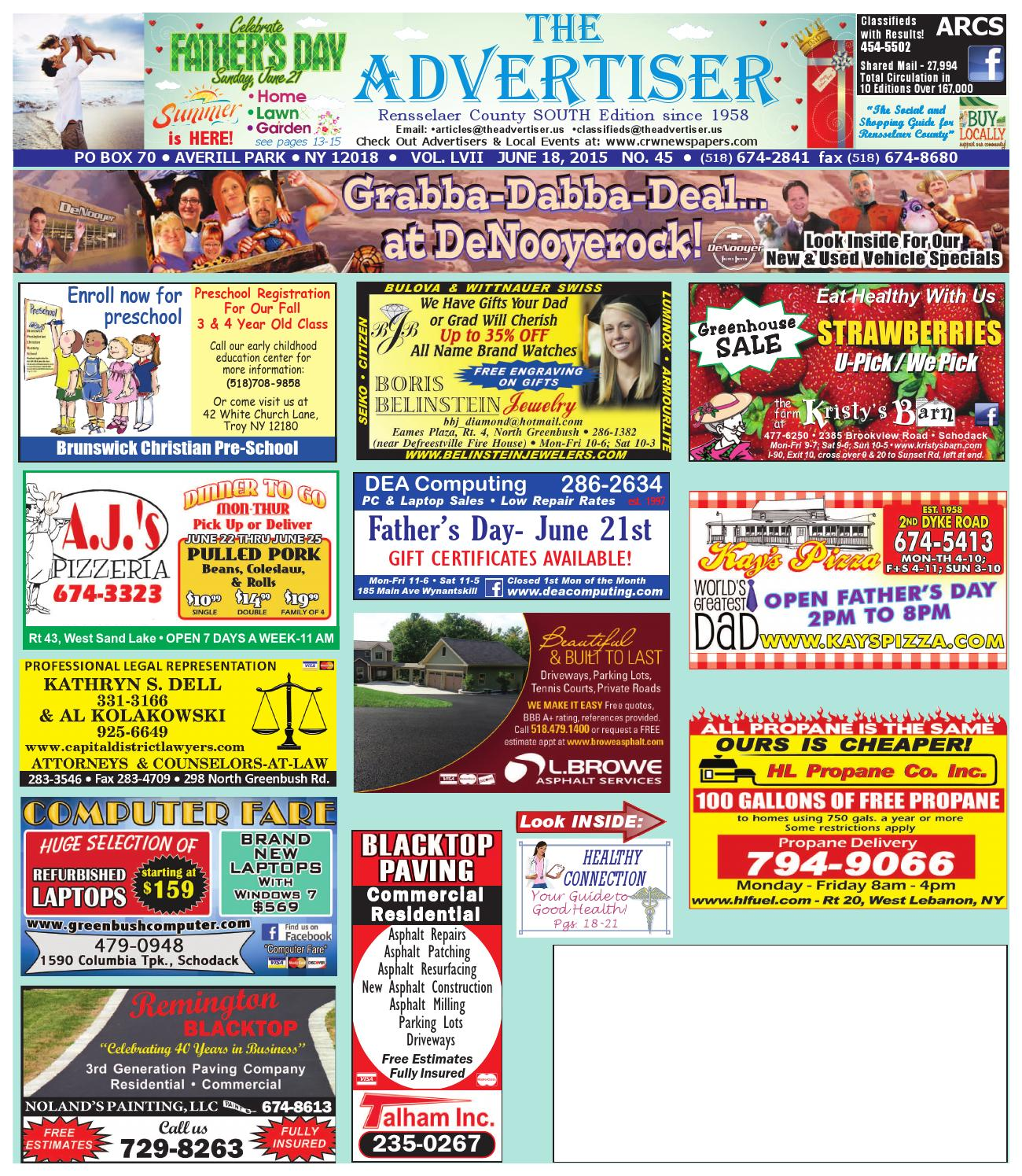 Advertiser South by Capital Region Weekly Newspapers issuu