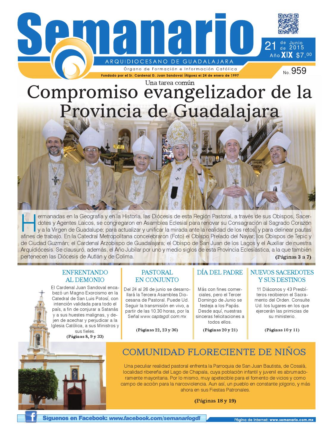 b26f039246b Semanario  959 by Semanario Arquidiocesano de Guadalajara - issuu
