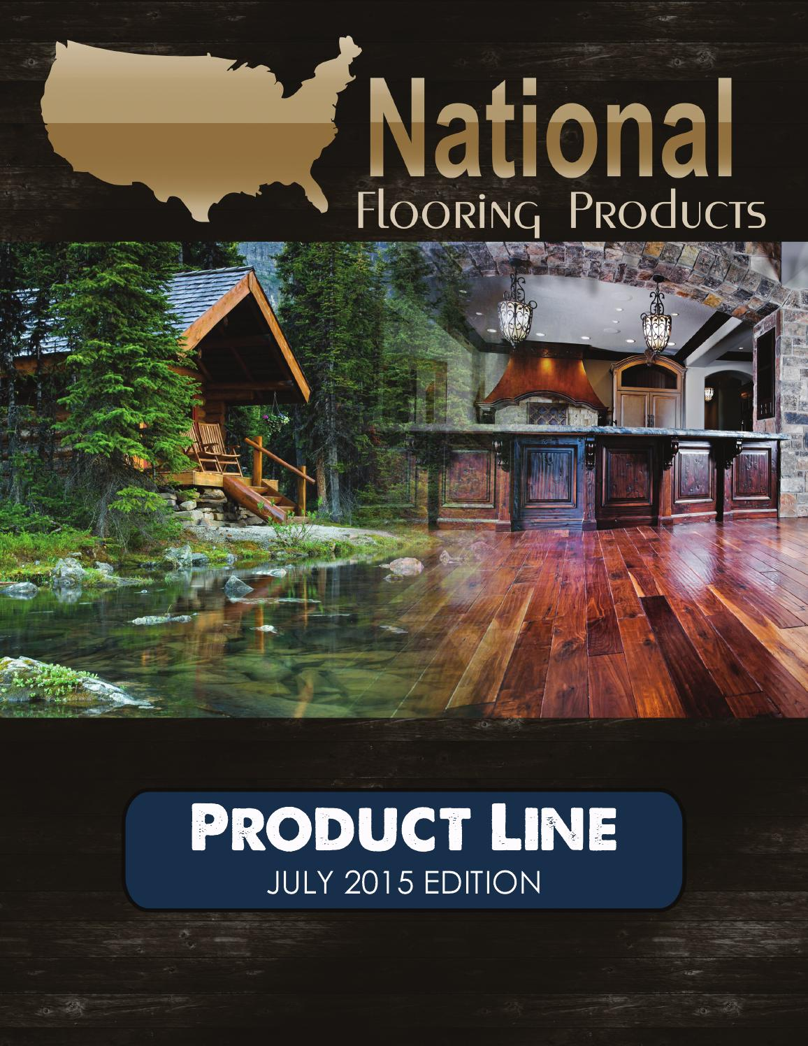 National Flooring Products Product Line Magazine  JULY 2015 By National  Flooring Products   Issuu