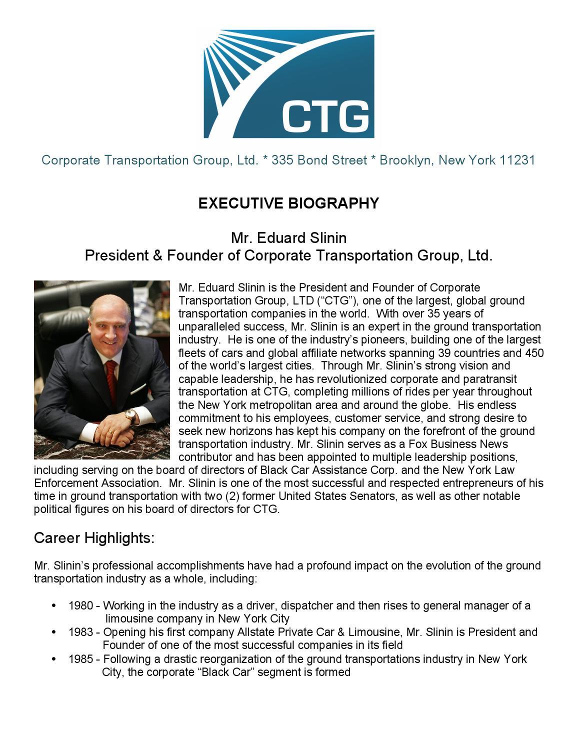 Ctg Cars New York