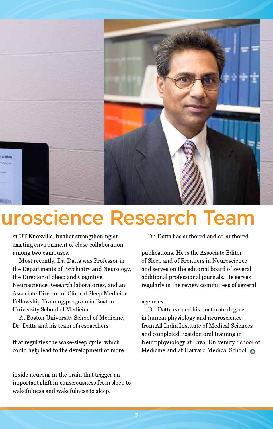Advance Research Digest Winter 2015 by Univ  of TN Graduate School