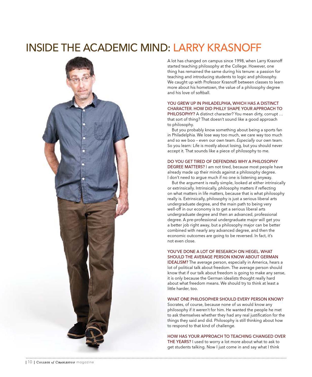 College of Charleston Magazine Summer 2015 by College of Charleston