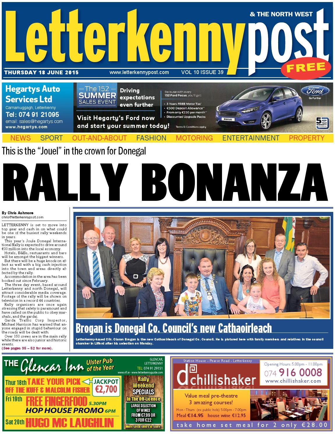 18 June 15 Letterkenny Post By River Media Newspapers Issuu