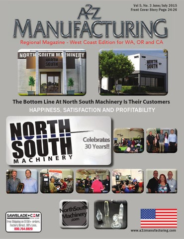 A2Z Manufacturing June July 2015 by A2Z Manufacturing Magazines - issuu