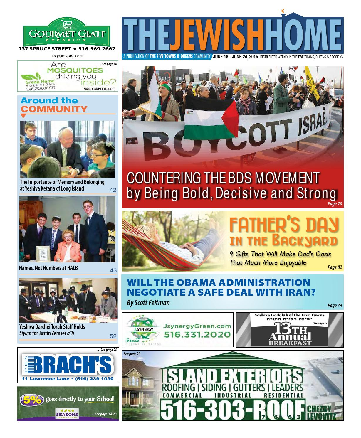 Five Towns Jewish Home - 6-18-15 by Yitzy Halpern - issuu